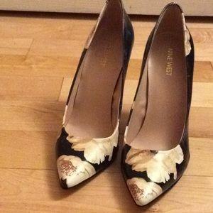 Floral stiletto heels